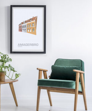 ♥ Amagerbro plakat  By Lindhardt