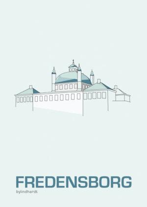 ♥ Fredensborg plakat  By Lindhardt