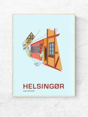 ♥ Frederiksberg plakat By Lindhardt