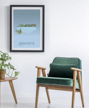 ♥ Gentofte plakat By Lindhardt
