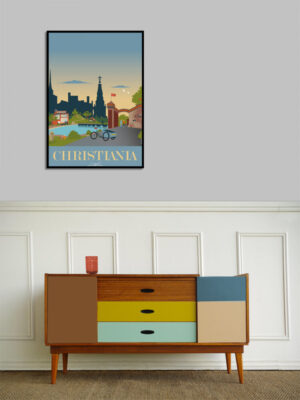 Christiania plakat
