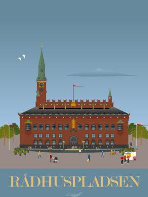 Rådhuspladsen plakat