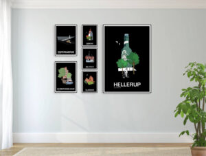 ♥  Hellerup plakat By Lindhardt