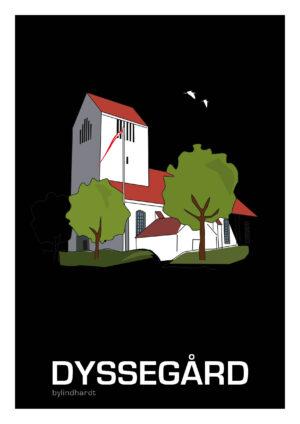 ♥ Dyssegård plakat